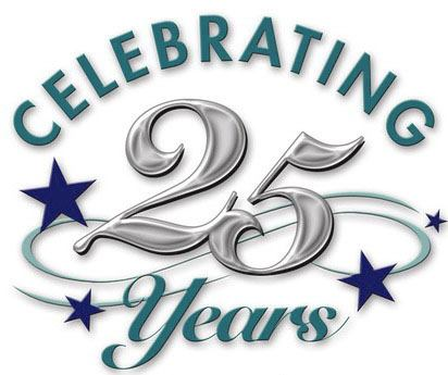 We turn 25 today!!!